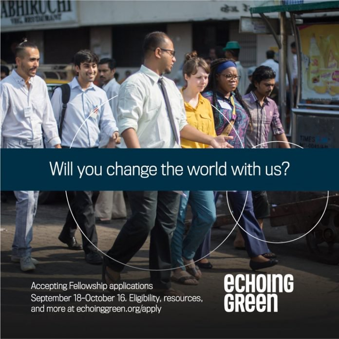 echoing green fellow jobsandschools