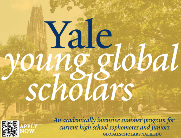 yale young global scholars program jobsandschools