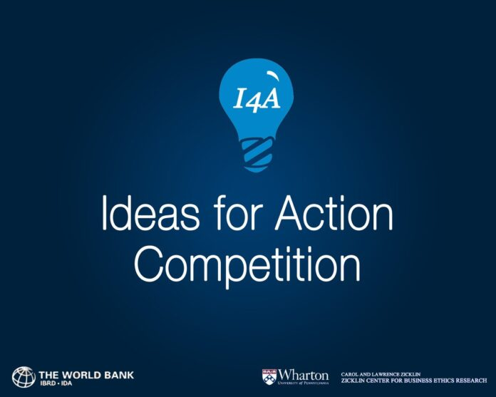 World-Bank-Zicklin-Center-at-Wharton-Ideas-for-Action-I4A-Competition-2020