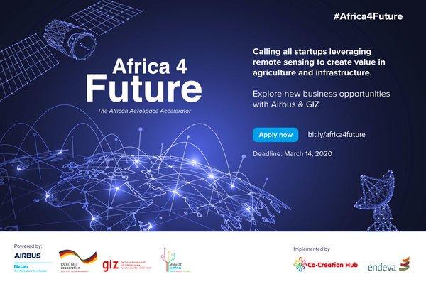 Airbus Bizlab Africa4Future Aerospace Accelerator Program 2020 for African Startups