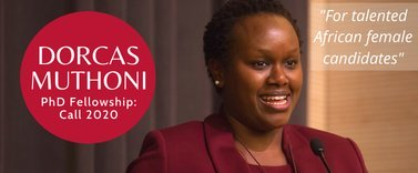 Photo of Dorcas Muthoni PhD Fellowship 2020 for talented African Females