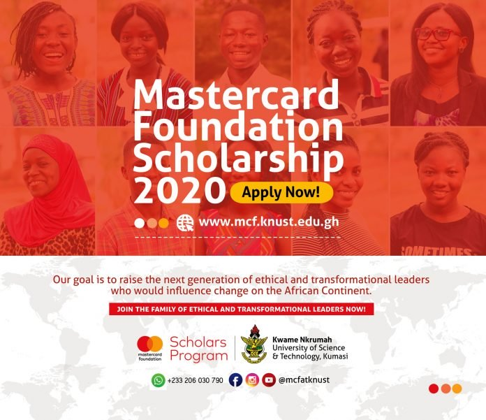 knust-mastercard-foundation-scholarships-2020-2021