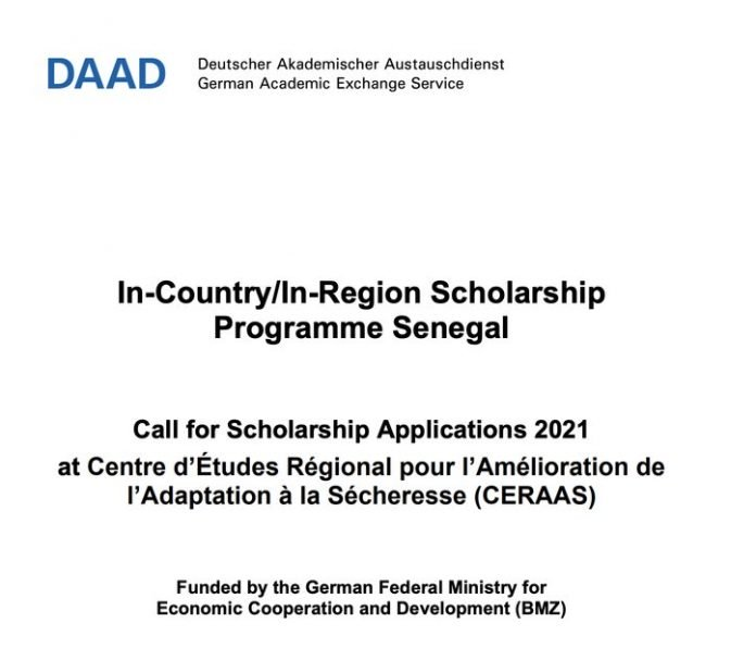 DAAD CERAAS Masters and PhD Scholarships 2020 for Sub-Saharan African Students