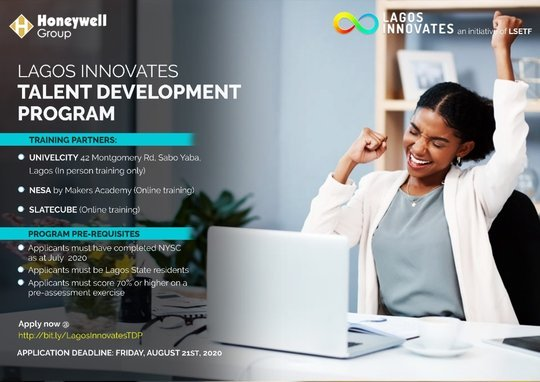 Lagos Innovates Talent Development Program